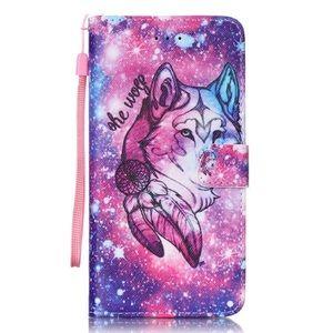 iPhone 6 wolf flip phone case